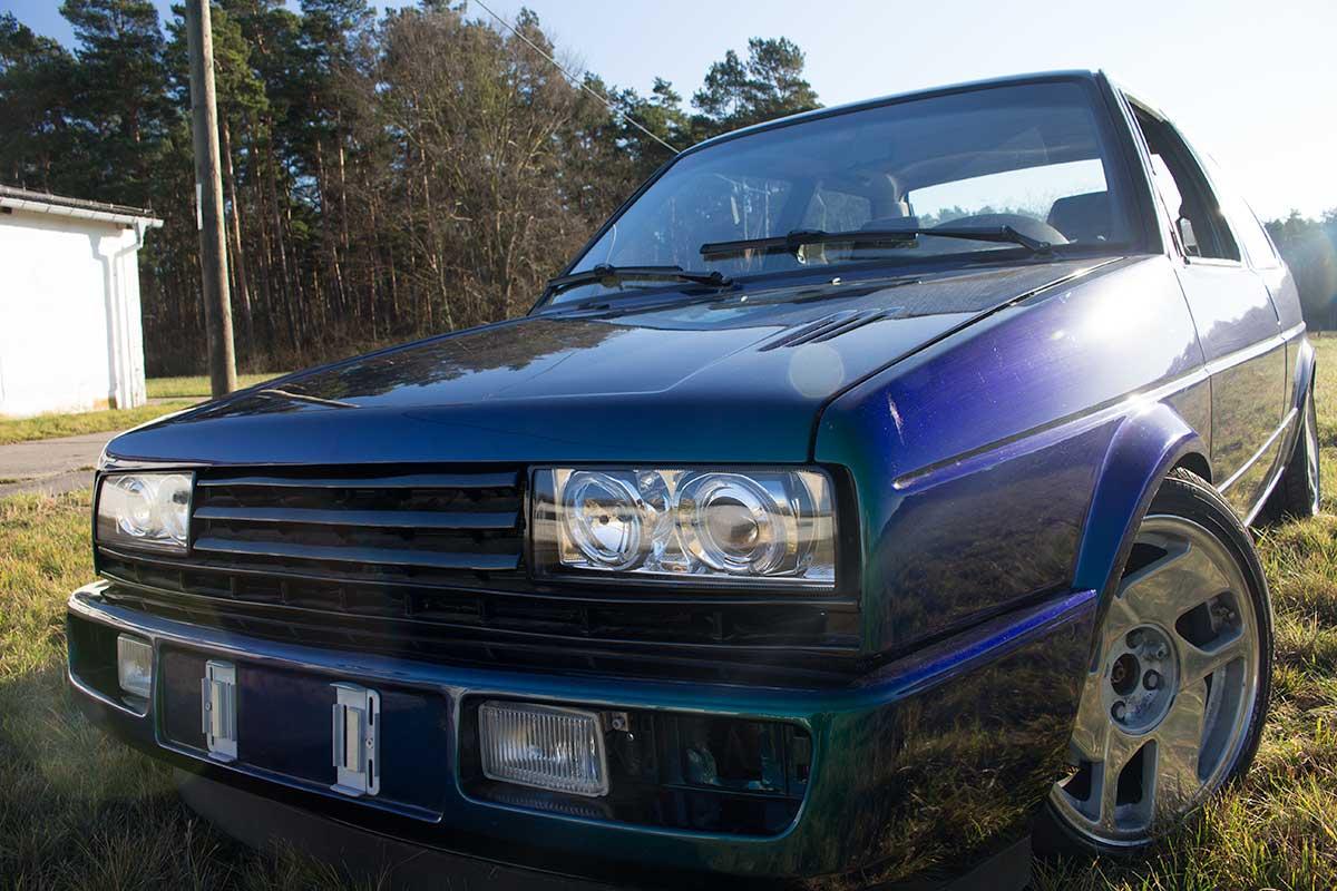 VW Jetta MKII Frontansicht