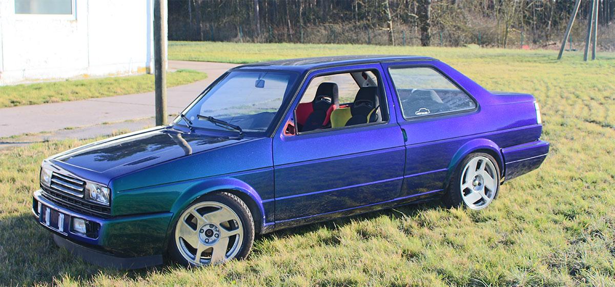 VW Jetta MKII Farbverlauf