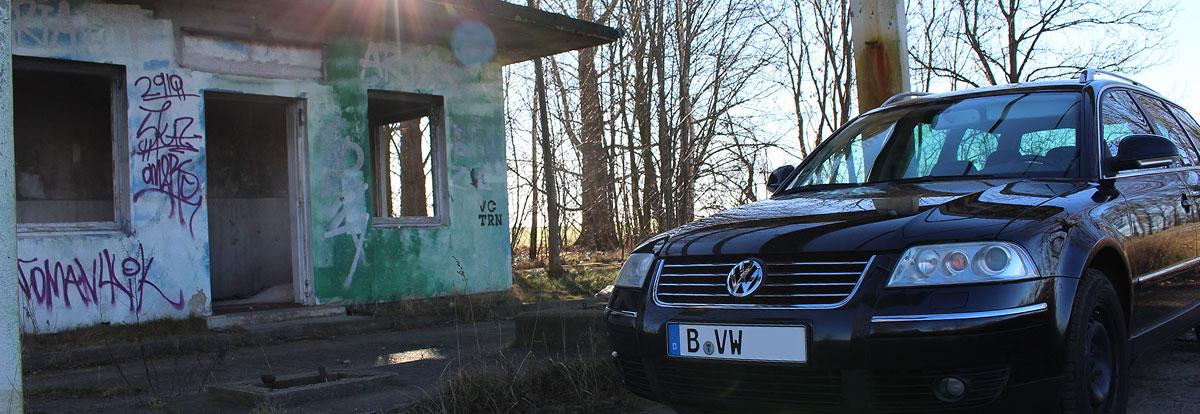 VW Passat 3BG - Alte Tankstelle 2