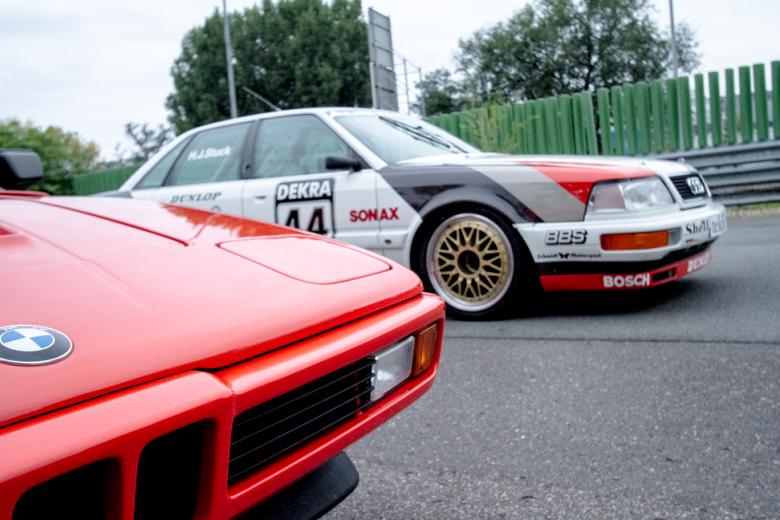 BMW M1 und Audi V8 Quattro